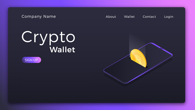 Secure cryptocurrency wallets
